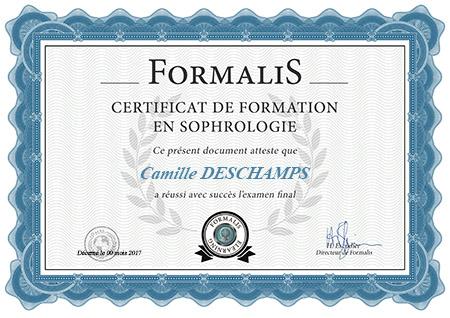 certificat de formation en sophrologie