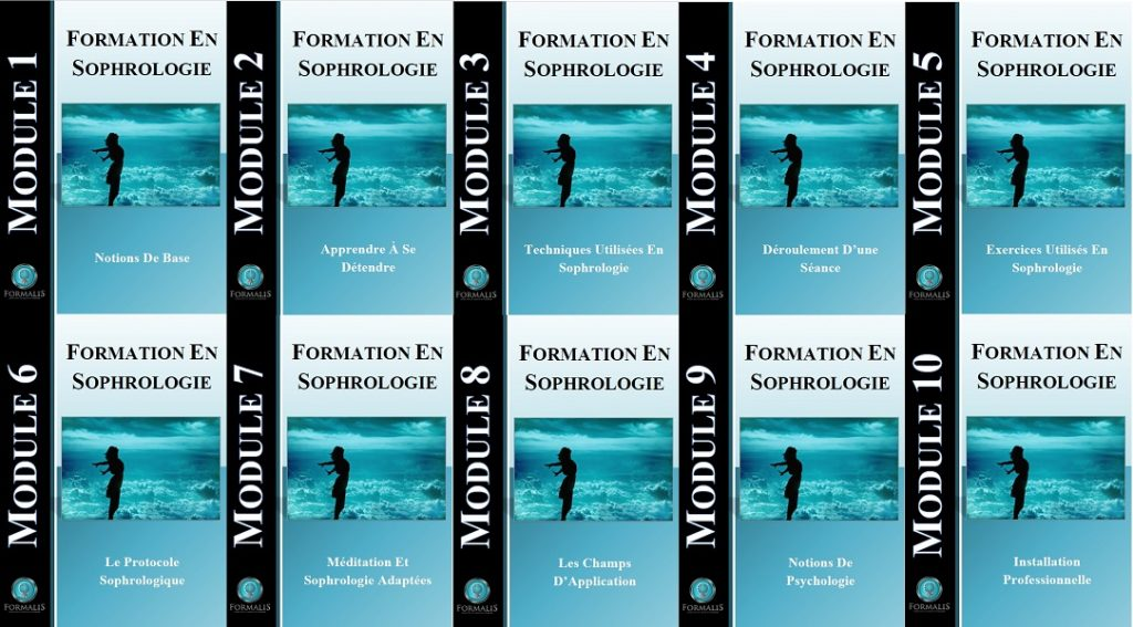sophrologie, les 10 modules PDF de la formation