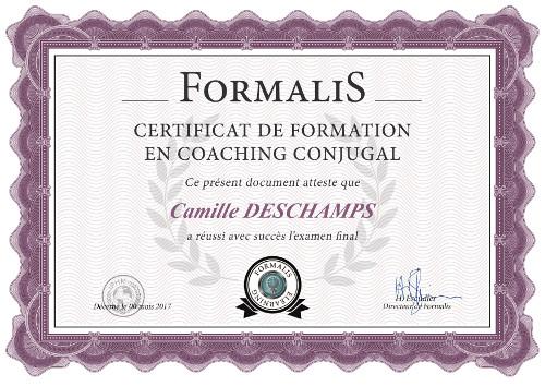 certificat formation coaching conjugal