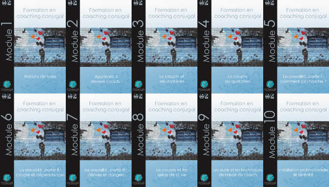 modules PDF formation en ligne coaching conjugal