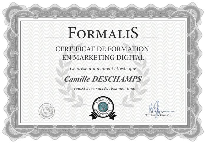 certificat formation marketing digital