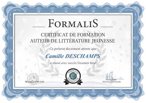 certificat formation auteur littérature jeunesse