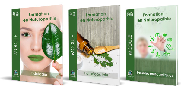 pack 3 modules complémentaires naturopathie