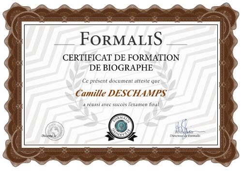 certificat formation devenir biographe