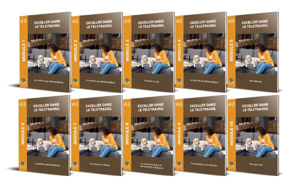 10 Modules PDF formation télétravail