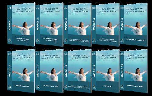 Modules PDF formation en ligne un mois pour se remettre en forme