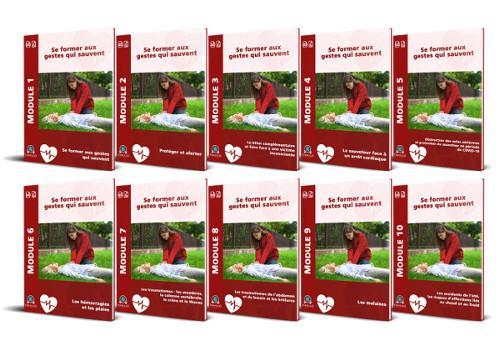 10 Modules PDF formation les gestes qui sauvent