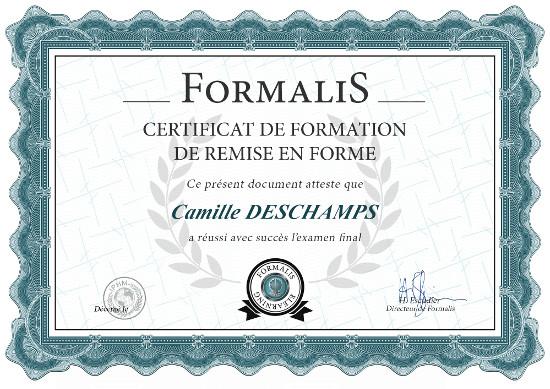 certificat formation 1 mois pour être au top