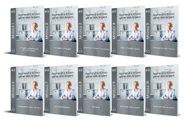 10 Modules PDF formation bien gérer son argent