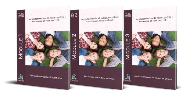 3 modules la naturopathie pour les adolescents